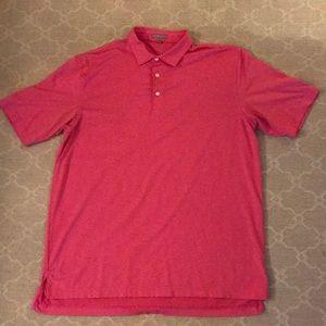 Peter Millar Golf Shirt Size XL